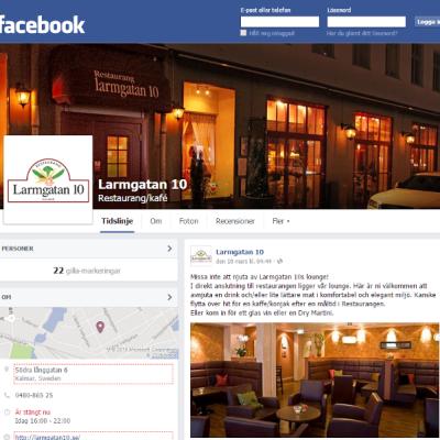 Printscreen Facebook